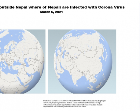 341 Nepalis living abroad have succumbed to coronavirus as of today