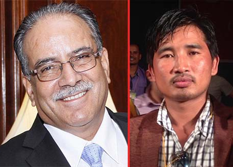 Nabina with Dahal, Ranjit with Oli for nomination