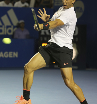 Nadal will play Querrey for the Mexican Open title