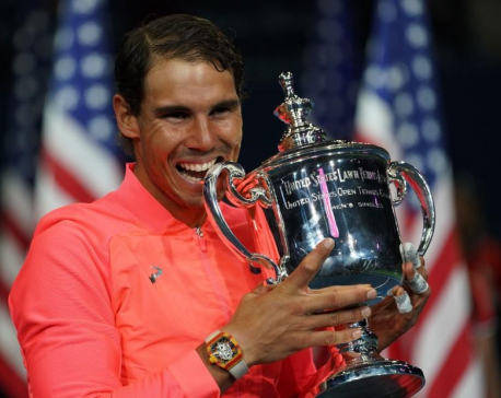Nadal makes hardcourts look easy for third U.S. Open crown