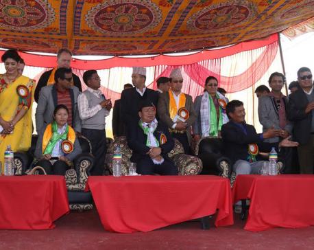 VP inaugurates Sukman Memorial Polyclinic