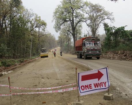 Mugling-Narayangadh road section to remain closed during night from Jan 2
