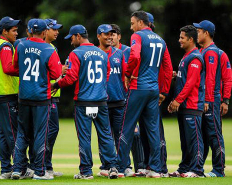 Nepal facing Hong Kong in 2nd warm-up match today