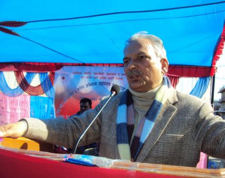 Economic revolution is country's need:Ex-PM Bhattarai