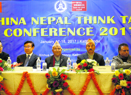 Ex FM Thapa raps govt for failing to implement Nepal-China deals
