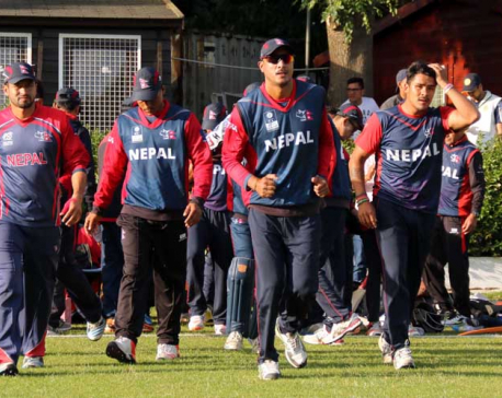 14-member Nepali team declared for WCL matches against Kenya