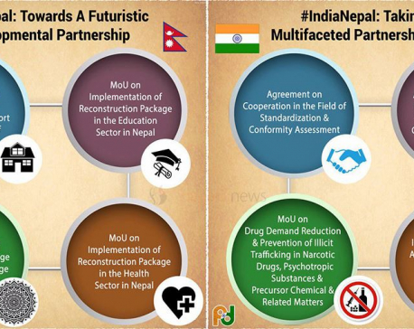 Nepal-India deal on eight agreements