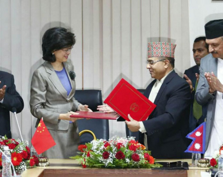Nepal officially signs OBOR