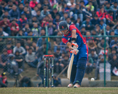 Nepal loses first match against Kenya by 5 wickets in ICC World League Championship (With Photo Features)