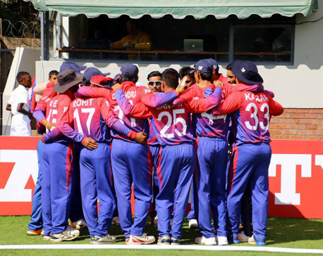 Nepal lost in maiden match against Zimbabwe by 116 runs