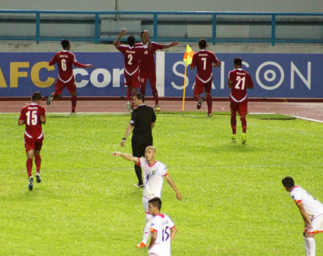Nepal enters AFC Solidarity Cup semifinals (with video)