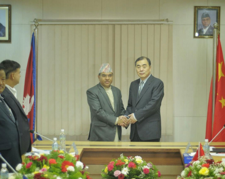 Nepal-China JCM meeting begins in KTM