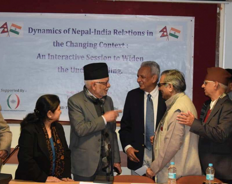 Experts call for enhancing Nepal-India relations