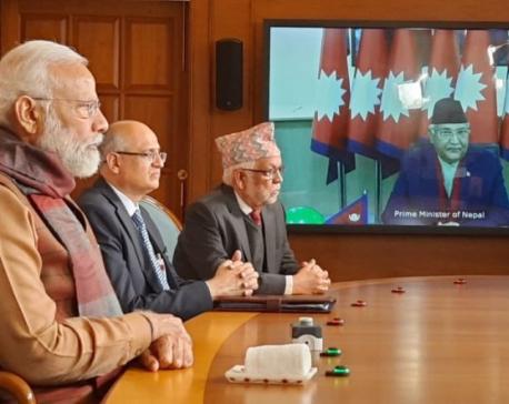 Nepali, Indian PMs jointly inaugurate integrated check post at Biratnagar- Jogbani border point