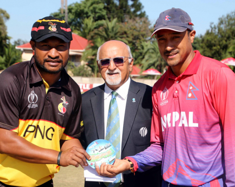 In pictures: Nepal VS PNG