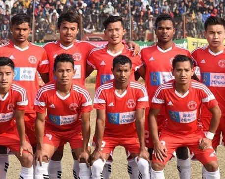 NPC lifts Aaha Rara Gold Cup, defeating Ruslan Three Star Club
