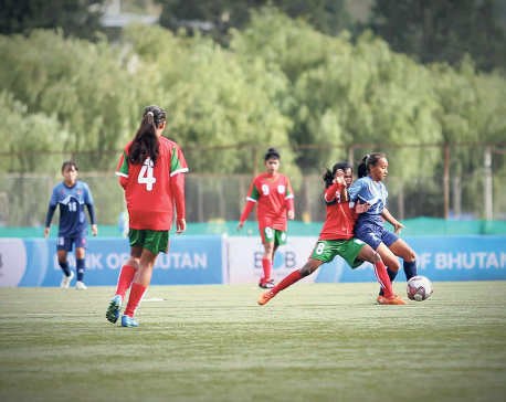 Nepal suffers second straight loss in SAFF U-15
