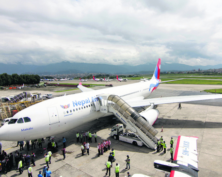 NAC operates chartered flight to Tokyo