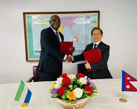 Nepal and Sierra Leone establish diplomatic relations