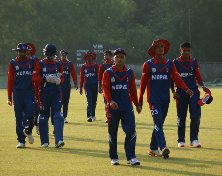 Nepal crush Malaysia in rain-curtailed match