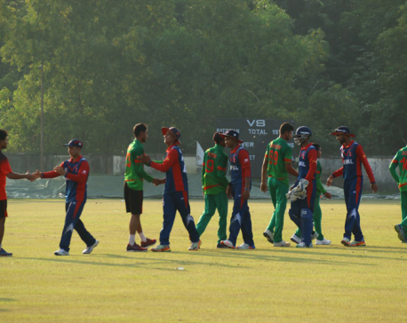 3rd Practice Match: Aasif blitz helps Nepal consolation win
