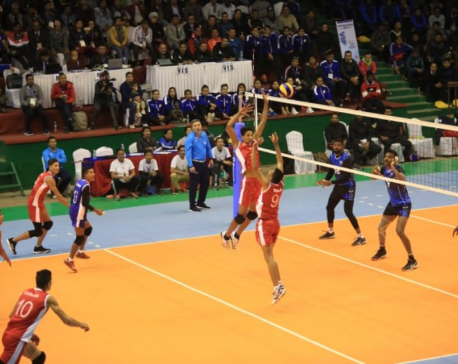 'Experienced' India knocks Nepal out of men's volleyball