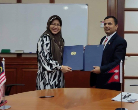 Nepal, Malaysia sign deal to resume supply of Nepali migrant workers to Malaysia (with video)