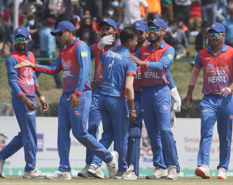 Nepal thrashes Malaysia by 9 wickets as Bhurtel scores consecutive half-century