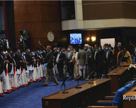 House meeting adjourned for 10 minutes after NC's obstruction
