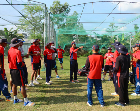 1st Practice Match: Lamichhane shines in defeat against Ban U-19