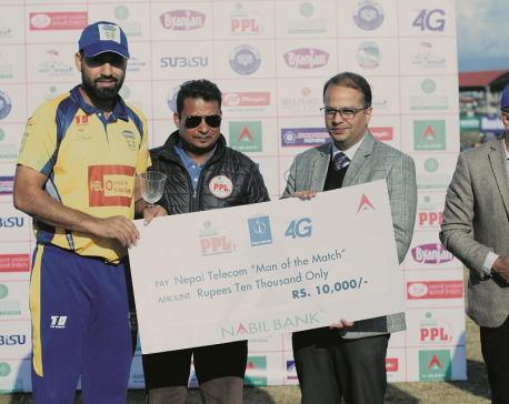Bowlers, Hayat secure first win for Chitwan Rhinos