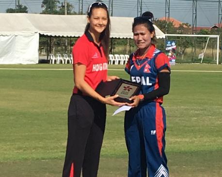Nepal Women secure 3rd place finish