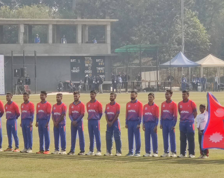Airee's unbeaten 72 inspires Nepal to 172