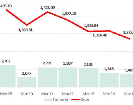 Nepse continues bear market slide