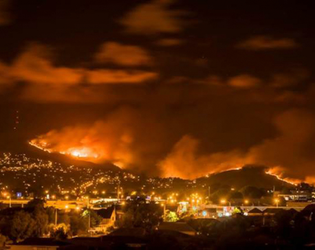 Firefighters battle to contain New Zealand wildfire as 1,000 evacuated