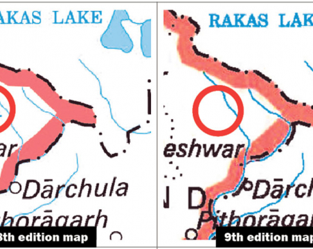 New Indian map conspicuously avoids naming Kali River