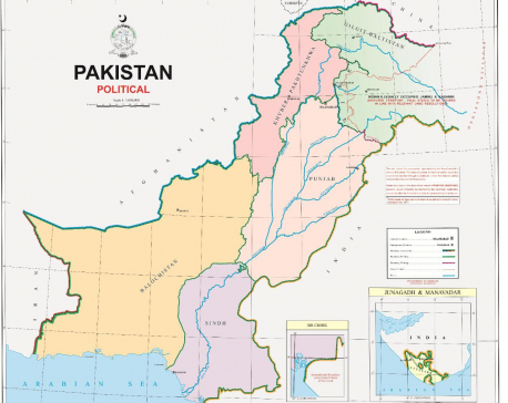 Pakistan unveils new political map that includes parts of India; New Delhi calls it an 'exercise in political absurdity'