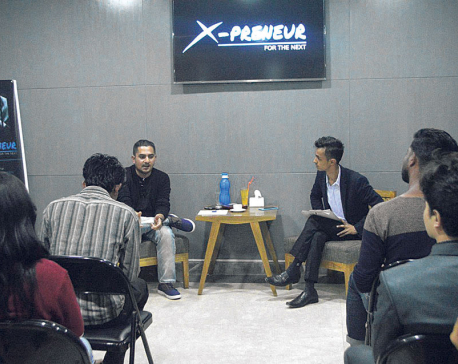 X-preneur holds discussion on entrepreneurial possibilities