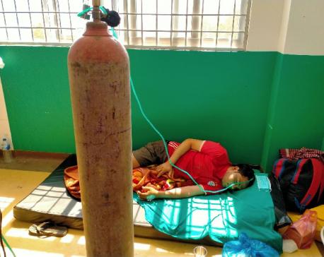 Finding medical oxygen at Karnali hospitals getting harder
