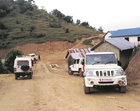 Access to road brings prosperity to a village in Surkhet