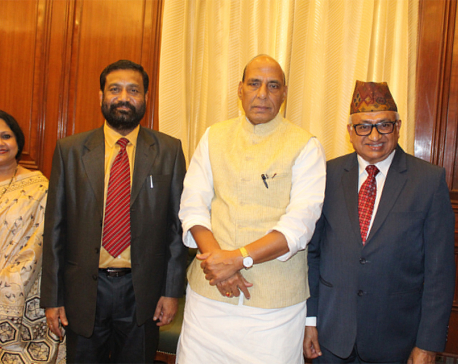 DPM Nidhi raises Kanchanpur incident during meeting with Indian counterpart
