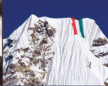 Nirmal Purja may face action for taking giant flag to Mt Ama Dablam
