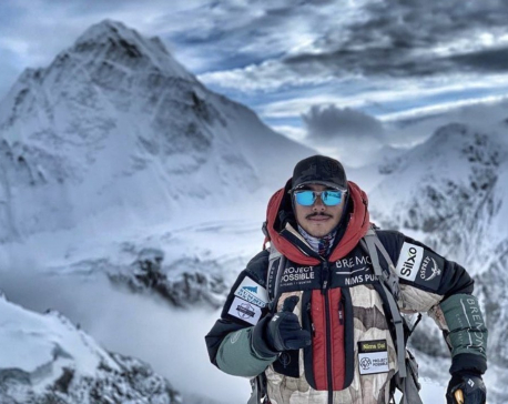 Nirmal Purja sets record scaling 13 peaks in five months