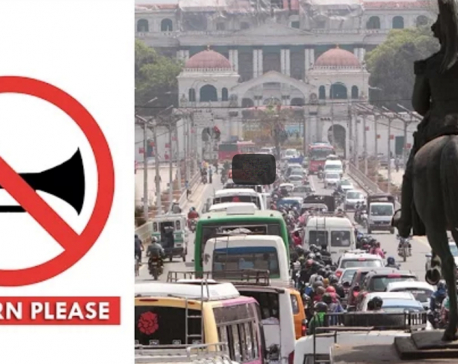 'No Horn Please' rule from New Year 2074 BS