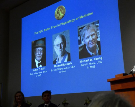 3 Americans win Nobel medicine prize for body rhythm work