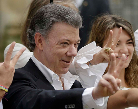 Colombian leader Juan Manuel Santos wins Nobel Peace Prize