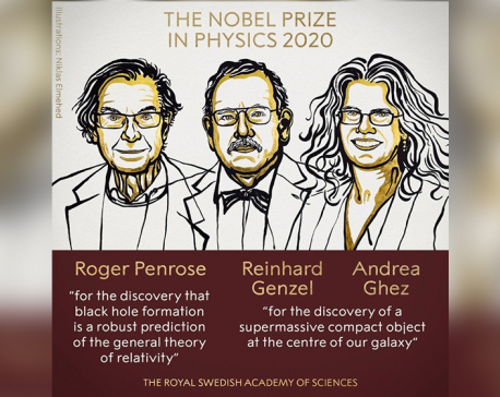 Black hole discoveries win 2020 Nobel Prize for Physics