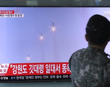 North Korea fires 3 short-range missiles; US says tests fail