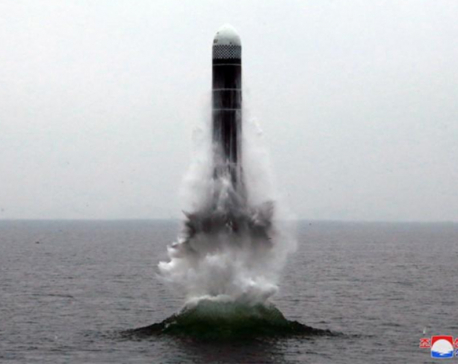 North Korea says it successfully tested new submarine-launched ballistic missile