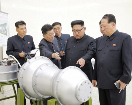 North Korea earthquake suggests sixth nuclear test
